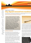 AG2 - Clay Deposit Removal from Membranes - Application Guides